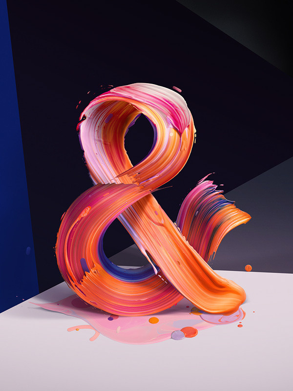 The New Republic Magazine - Ampersand on Behance Creative Director: Erick Fletes #republic #hellocolor #typography #pawel #the #ampersand #nolbert #new