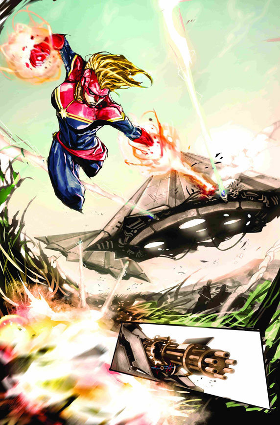 First Look: CAPTAIN MARVEL #3 Comic Vine