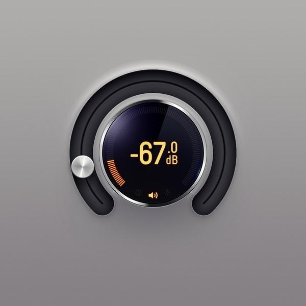 Radialslider #dial #graphic #ui