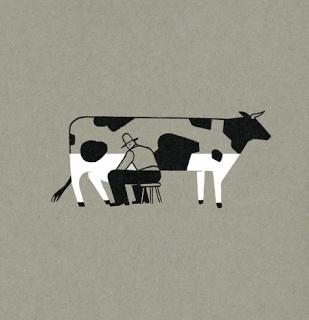79e75297a56f0674b6438b43240626d5 #milk #illustration #cow