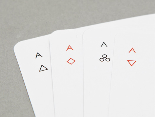 Iota Playing Cards by Joe Doucet #cards #minimal #playing
