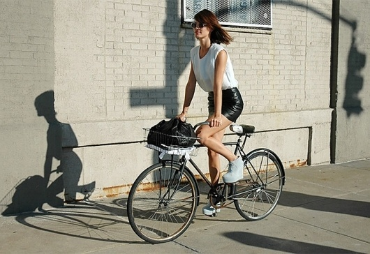 ABOUT / CONTACT – HANNELI MUSTAPARTA #style #photography #bike #hanneli #acne atacoma #leather skirt #bangs