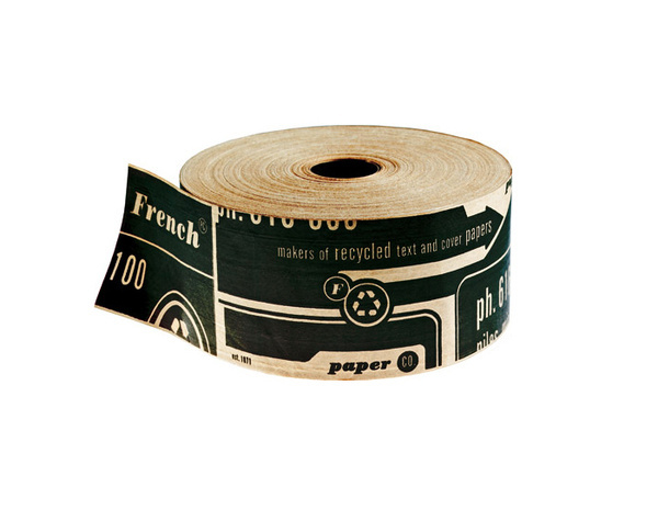 Charles S. Anderson Design Co. #tape #packing #french #wrapping #paper