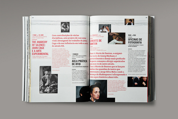 MagSpreads Magazine Design and Editorial Inspiration: Guimarães 2012 – Programme Book