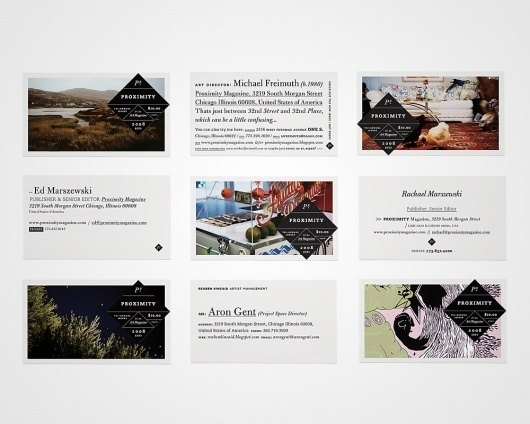 Michael Freimuth – High-res Showcase | September Industry #cards #business