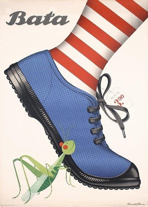 bata, 1946 #mantis #shoe