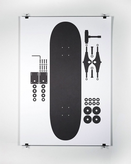 Mark Boyce #skateboard #print #illustration