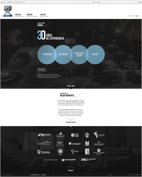 Web Development / Soporte Eventos #mexico #design #web #mno