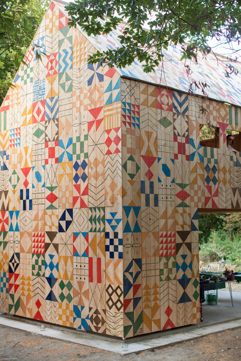 Nous Vous Blog #weave #pattern #nous #geometric #building #architecture #studio #vous