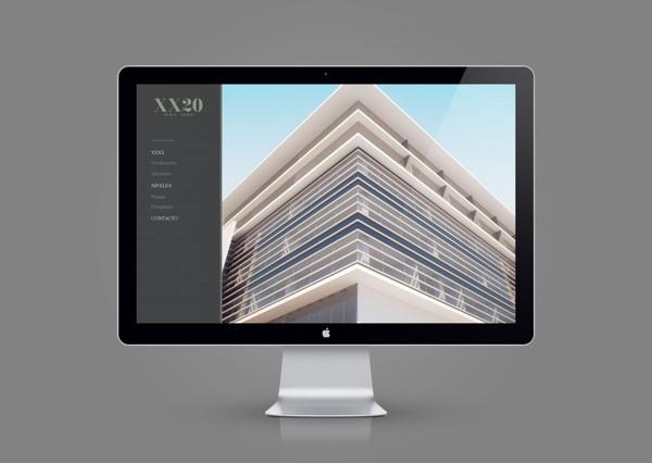 VEINTE VEINTE on Behance #design #identity #web #branding