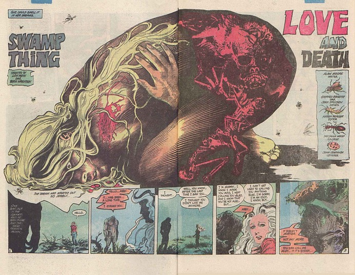Image result for swamp comic book