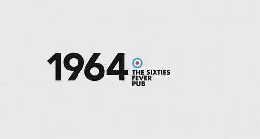 1964 pub logo #sixties #logo #identity