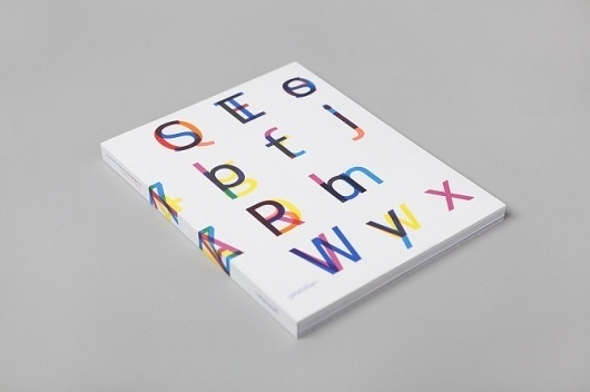 Twenty-six characters (Nokia Pure) - Collected Visuals #book