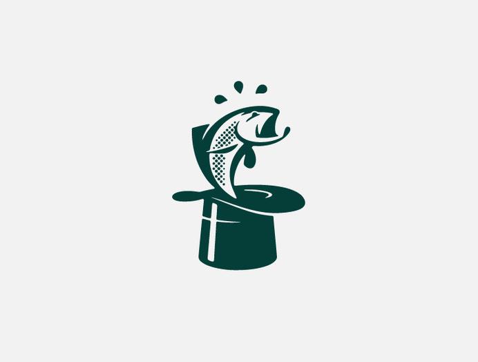 Trout Trick #logo #illustration
