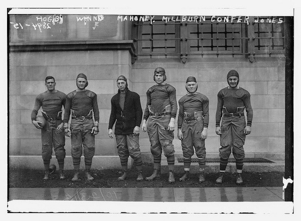 US Military Academy (West Point) football team (1913) #states #military #photography #sports #vintage #1913 #united #football #homage