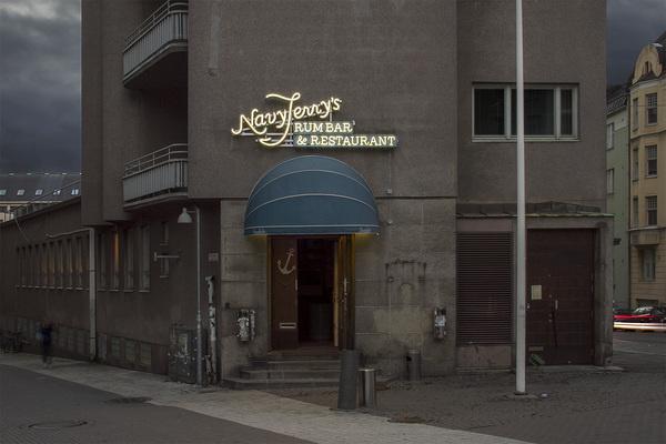 Navy Jerry's — Werklig #signage #typography