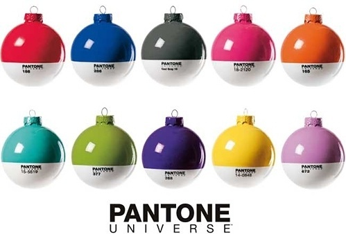 Pantone Christmas Lights #christmas #lights #pantone
