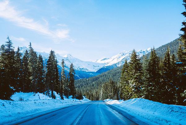 winter wonderland #canada #road #landscape #nature #photography #mountains #vsco