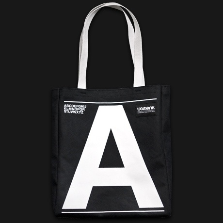 Ugmonk — UPPERCASE (TOTE BAG) #bag #tote #lettering #typography
