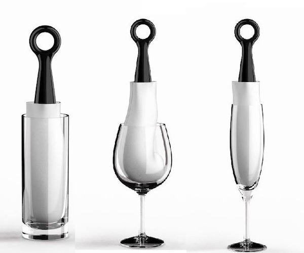 Spot-Not: Wine Gadget That Dries Any Shape Glass #gadget