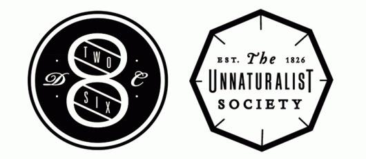 826DC #branding #logo #seal #type #bw
