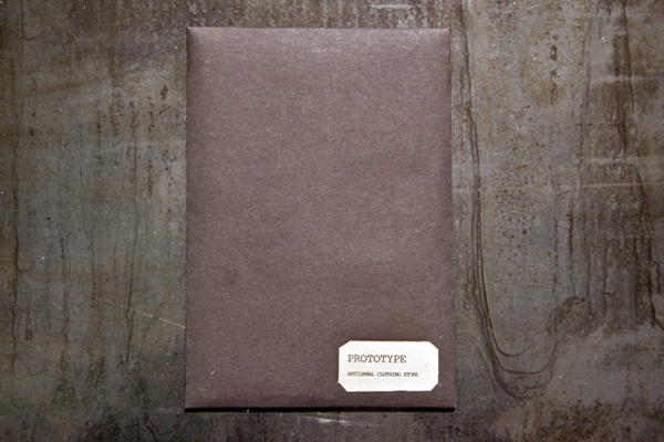 PROTOTYPE Presentation packages #packaging #design #prototype #black