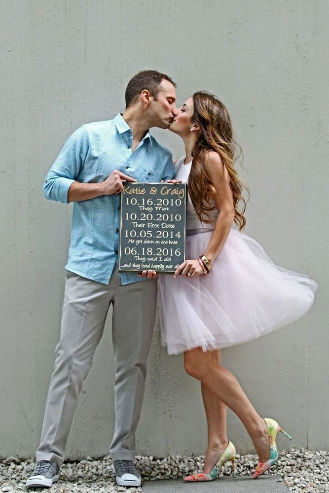 We selected the most popular and creative save the date ideas. Browse our gallery and get fun.