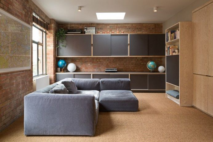 Roof Terrace Room Renovated and Extended by Fraher Architects in London 5
