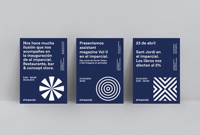 el imparcial. by Xavi Martinez #print #graphic design #card