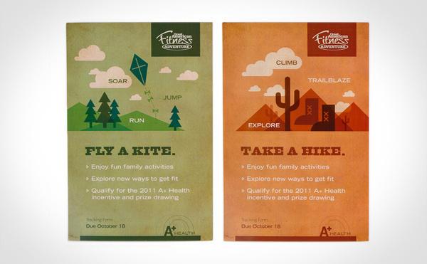 Andersen Corporation AW Health Initiative #print #design #illustration #poster #booklet