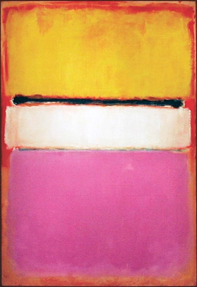 colour, rothko, pink, contrast, abstract, art