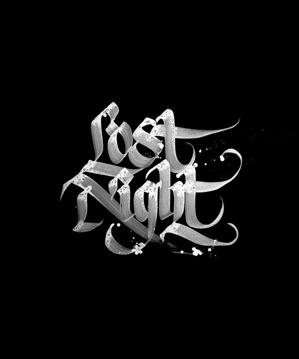 night #calligraphy