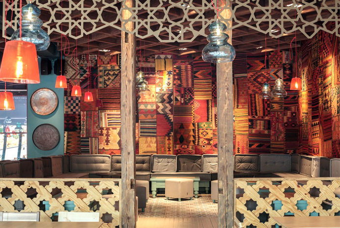 Exotic Oriental Restaurant Decor - #decor, #interior, #restaurant