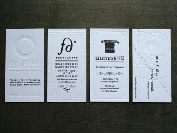 Best letterpress business cards fabien barral images on designspiration letterpress business cards by fabien barral card letterpress business colourmoves