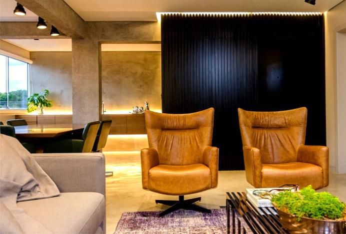 Attractive Apartment in Brazil - interior design, interior, #decor, home decor, home #design, #interiordesign