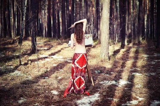 Yury Trofimov Photography - Welcome - Latest #girl #photography #painting #forest #trees