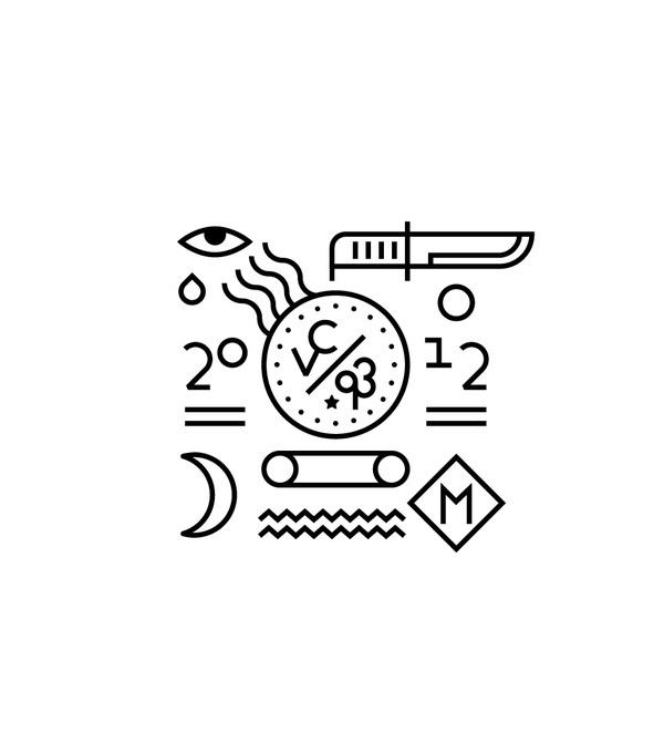 Line Illustration Series on the Behance Network #line