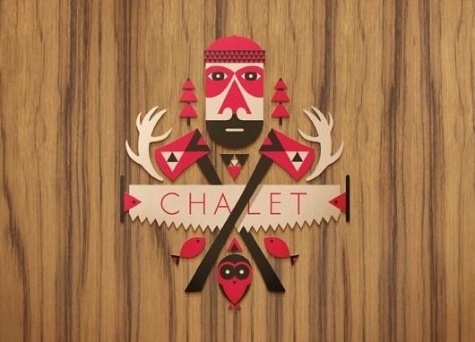 Target Chalet « Below The Clouds #illustration #design #graphic