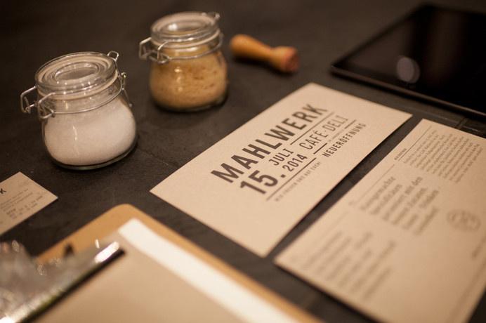 Mahlwerk / Cafe & Deli #handwerk #cafã© #print #design #graphic #corporate #handmade #coffee #type #qualitã¤t #editorial
