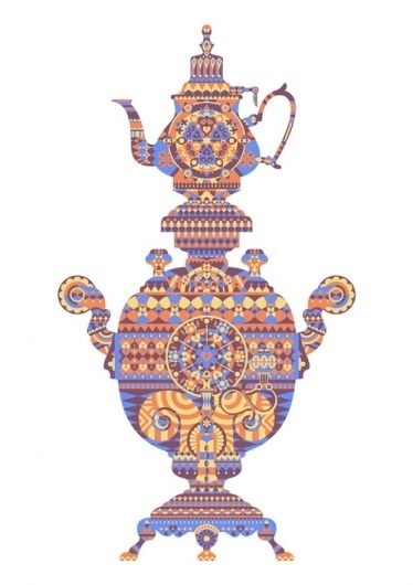 Samovar - Society6 #samovar #shapes #geometric #poster