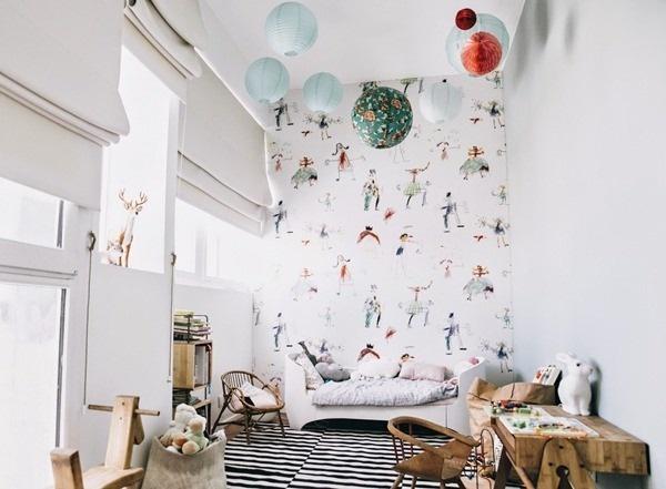 habitacion niños vintage El dormitorio infantil de Brune