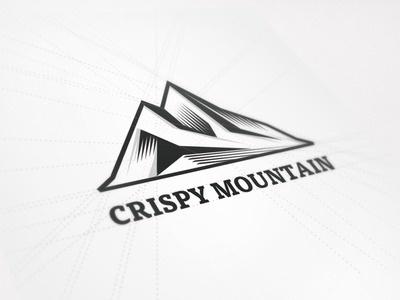 New Logo Design for Crispy Mountain #logo