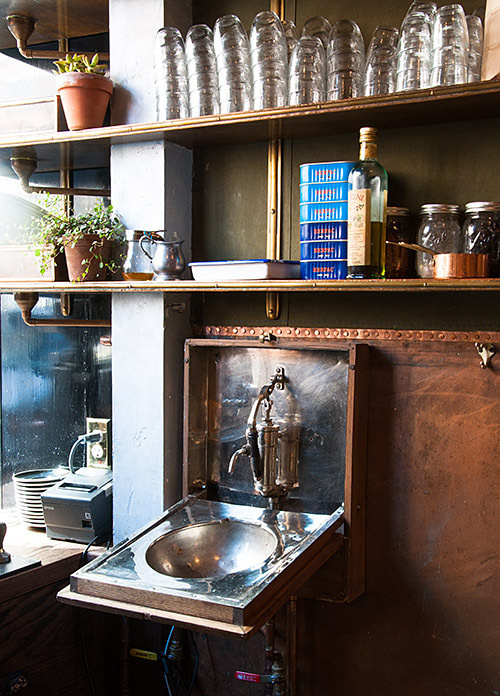 navy_restaurant_8 #interior #sink #design #decor #restaurant #deco #decoration