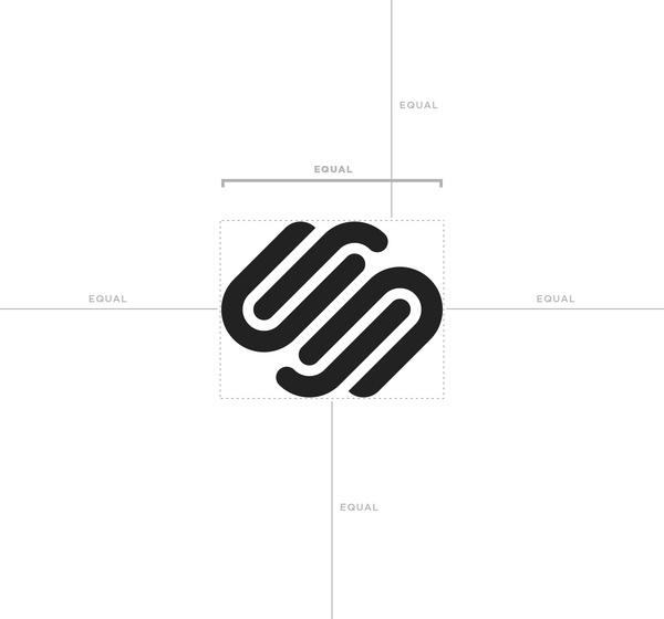 squarespace logo symbol black clear space diagram.jpg #logo #guides