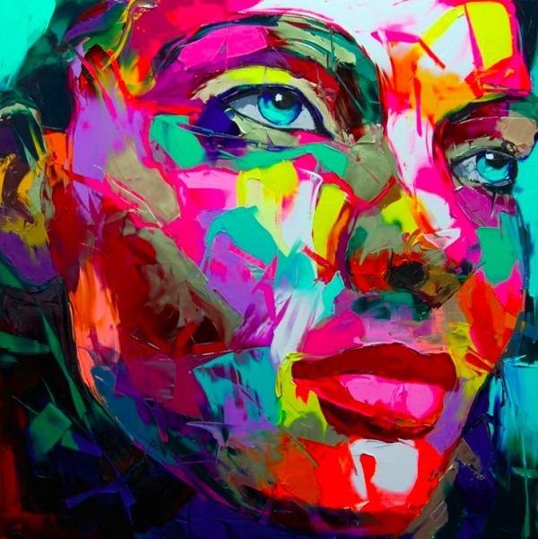 Francoise Nielly | PICDIT #painting #paint #color #art