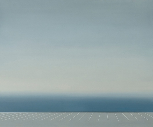 Jake Longstreth | EMPTY KINGDOM You are Here, We are Everywhere #fog #water #sea #longstreth #painting
