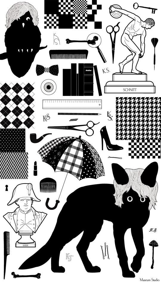 Work | Museum Studio – Art Direction #illustration