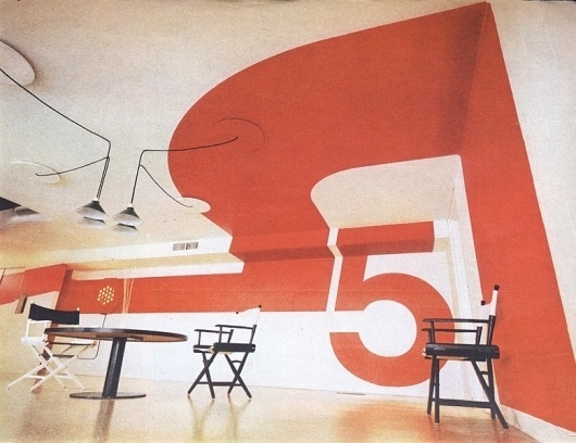 10(+) MORE architects i have been thinking about #70s #design #supergraphics #environmental #wall #painting #typography