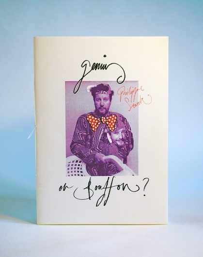 Genius or Bouffon? - Jake Pardoe #illustration #publication #hand lettering #zine