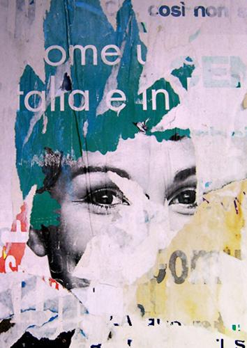 Marina Tercelan #grunge #print #advertising #wall #street #collage #paper